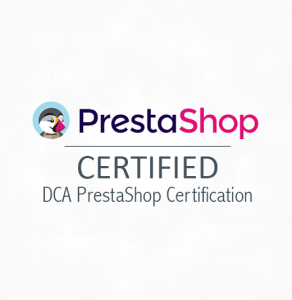 DCA Certification Prestashop