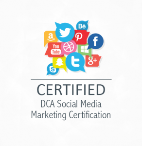 DCA Social Media Marketing Certification