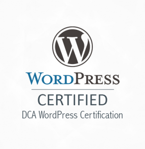DCA WordPress Certification