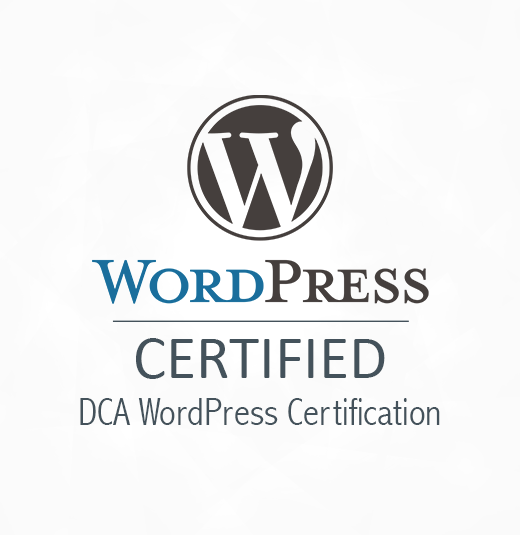 Digital Certification Agency | DCA WordPress Certification