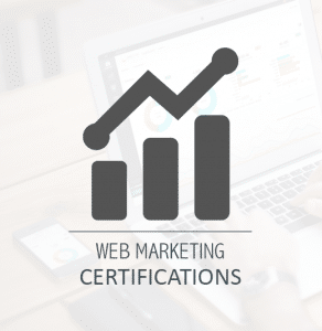WEB MARKETING Certifications
