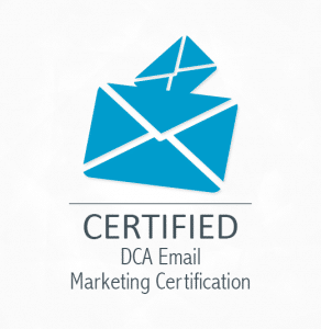 DCA Email Marketing Certification