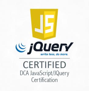 DCA JavaScript/JQuery Certification